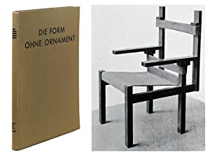 Die Form Ohne Ornament.: Pfleiderer, Wolfgang (introduction).