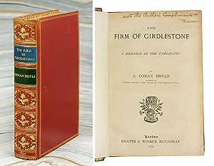 The Firm of Girdlestone - A Romance: Doyle, Sir Arthur