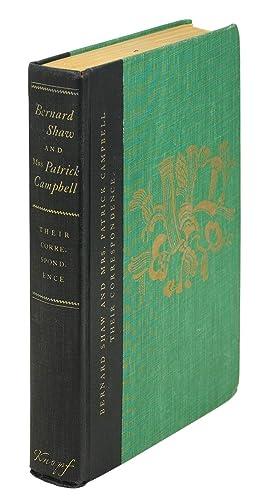 Bernard Shaw and Mrs. Patrick Campbell, Their: Shaw, George Bernard].