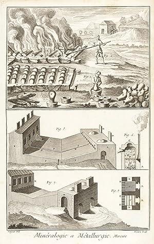 Histoire Naturelle, Minéralogie et Métallurgie (Mineralogy and: Diderot, Denis.