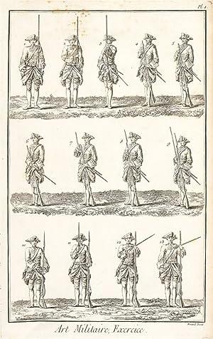 Art Militaire (Military Arts). Encyclopédie, ou dictionnaire: Diderot, Denis.