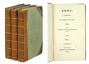 Emma: a Novel. In Three Volumes. By: Austen, Jane].