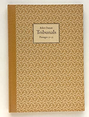 Tribunals: Passages 31-35