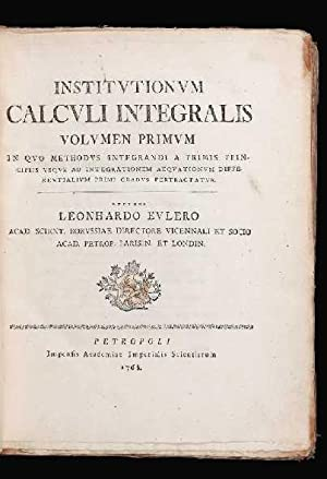 Institutionum Calculi Integralis