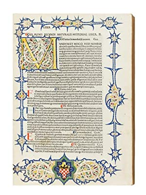 Historia Naturalis. Edited by Philippus Beroaldus: PLINIUS SECUNDUS, Gaius