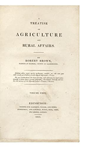 A Treatise on Agriculture and Rural Affairs
