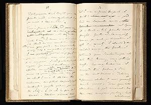 The complete autograph working manuscript of Disraeli's: DISRAELI, Benjamin, Earl