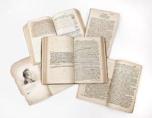 Unpublished working manuscript, written on rectos only,: LENOIR, Alexandre