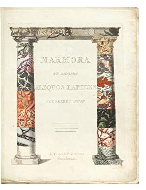 Marmora et adfines Lapides coloribus suis [English title: A Representation of Different Sort of M...