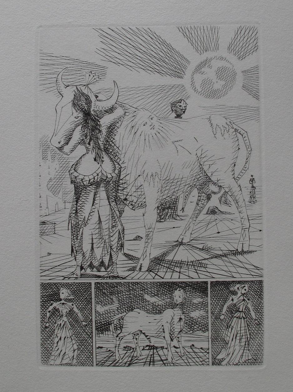 Dissertation le taureau blanc voltaire