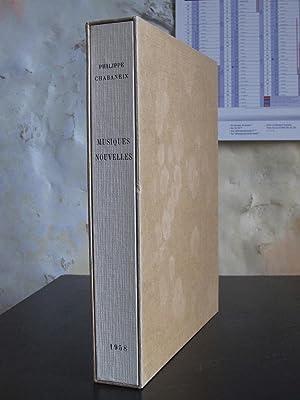 Musiques Nouvelles: Dix-huit Romances (illus. Robert LOTIRON): Chabaneix, Philippe
