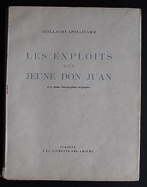 Les Exploits d'un Jeune Don Juan -: Apollinaire, Guillaume