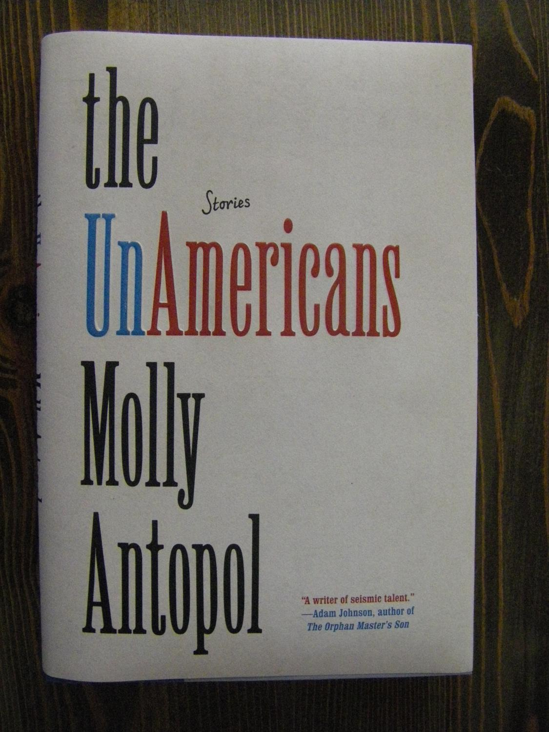 The_UnAmericans_Molly_Antopol_Très_bon_Couverture_rigide