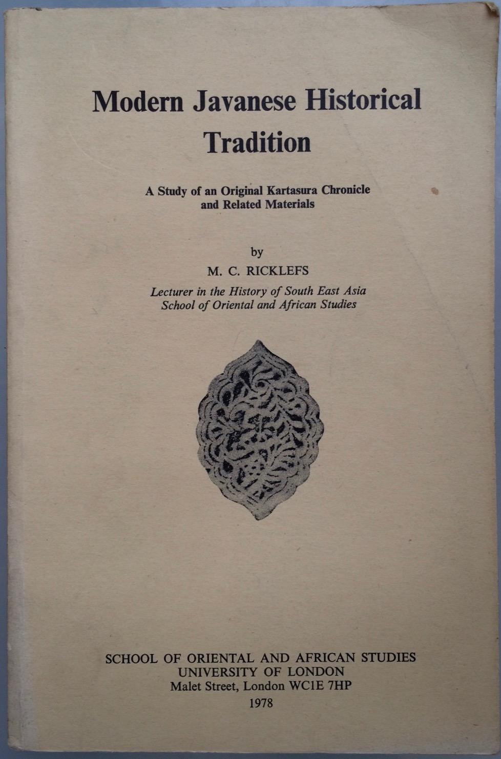 Javanese historical texts
