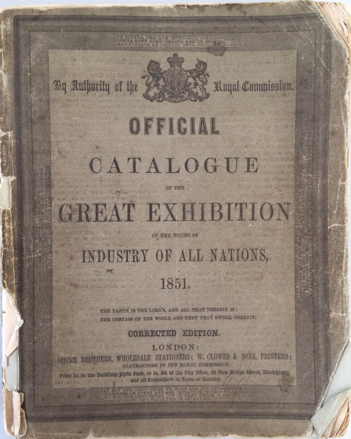 the great exhibition of 1851 essay Welcome to the virtual exhibit on the great exhibition of 1851  will find a  catalogue essay discussing the international and national dimensions of the  exhibit.