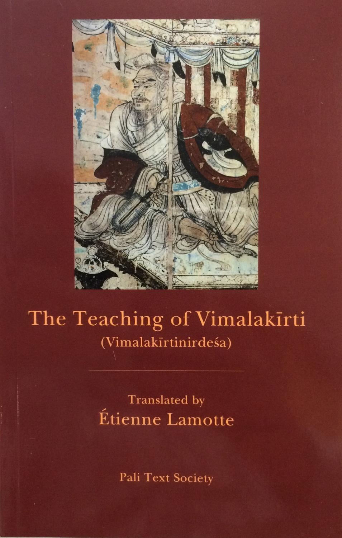 Lamotte and Boin Vimalakirti cover art