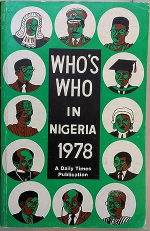 Who's who in Nigeria 1978 : biographies: James O Ojiako