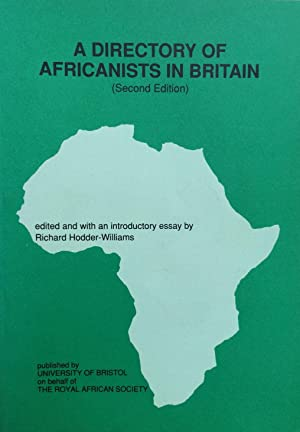 A Directory of Africanists in Britain [2nd edition]