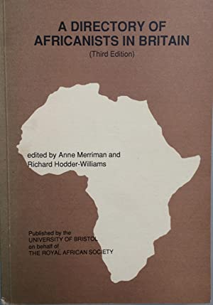 A Directory of Africanists in Britain [3rd edition]