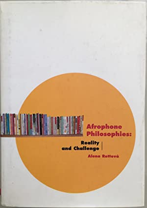 Afrophone philosophies : reality and challenge