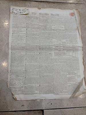 The Morning Herald. London. Collection of 40 issues from January 2nd to August 9th, 1816