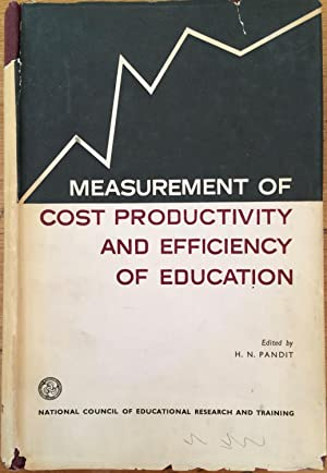 Measurement of cost productivity and efficiency of education; [papers].
