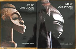 Art of Cote d'Ivoire from the collections of the Barbier-Mueller Museum: 2 Volumes