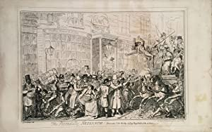 Regency caricature about the excitement, noise and confusion of London life. ?The Piccadilly Nuis...