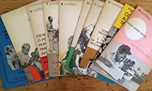 12 issues of 'Coleccao Estudos e orientacoes : Samora Machel; FRELIMO.' : Numbers 1-14 (lacking 4...
