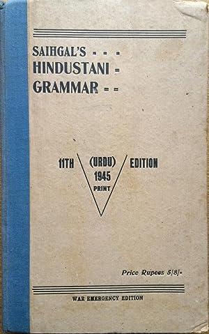 Saihgal's Hindustani grammar: Moolchand Saihgal; P
