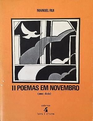 11 poemas em novembro (ano dois) [Cadernos: Manuel Rui