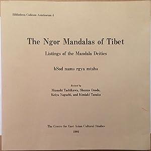 The Ngor mandalas of Tibet : listings: Bsod-nams-rgya-mtsho; Musashi Tachikawa;