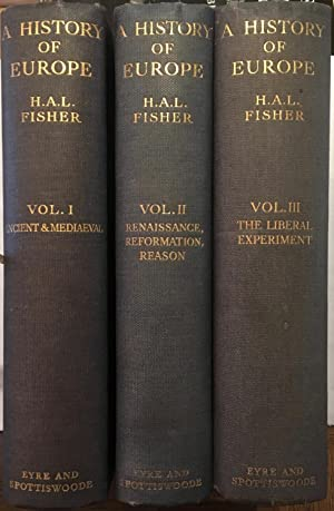A history of Europe. [3 Volume Set]: H A L