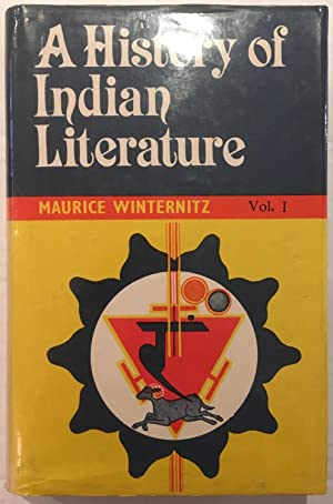 History of Indian Literature: Volume 1 [Introduction,: Winternitz, Maurice
