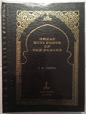 Great Sufi poets of the Punjab: by R.M. Chopra