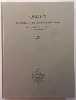 Qedem, 29. Excavations in the South of the Temple Mount: The Ophel of Biblical Jerusalem