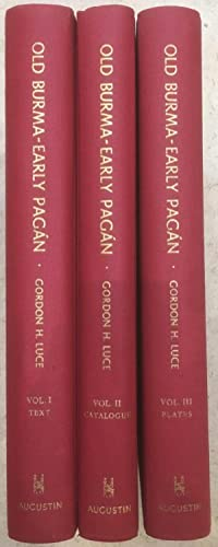 Old Burma ? Early Pagán [3 Volume Set]