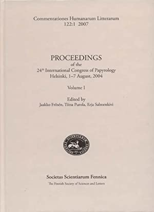 Proceedings of the 24th International Congress of: Joe Schmo