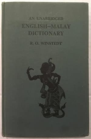 An unabridged English-Malay dictionary: Richard Winstedt; R