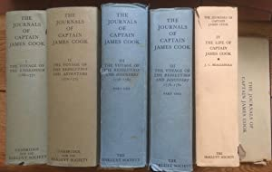 The Journals of Captain James Cook on his voyages of discovery (Extra series (Hakluyt Society), n...