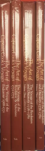 The Art of Captain Cook's Voyages [3 Volume Set in 4 book]