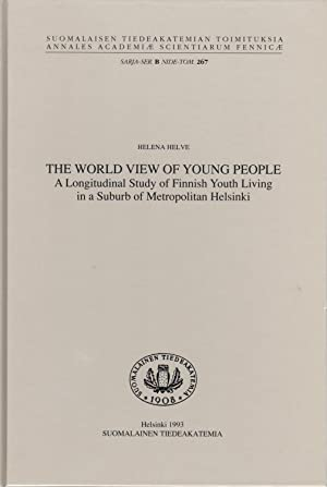 The world view of young people: A longitudinal study of Finnish youth living in a suburb of metro...