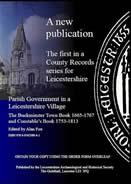 Parish Government In A Leicestershire Village: The Buckminster Town Book 1665-1767 And Constable'...