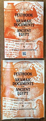 Textbook of Aramaic Documents from Ancient Egypt Vol. 4 - Ostraca and Assorted Inscriptions Newly...