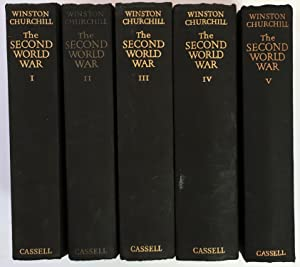 The Second world war, Volumes I-V [The Gathering Storm, Their Finest Hour, The Grand Alliance, Th...