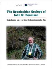 The Appalachian geology of John M. Dennison: edited by Katharine
