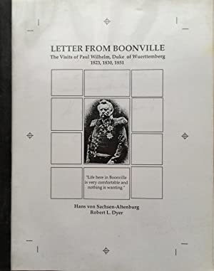 Letter from Boonville. The Visits of Paul Wilhelm, Duke of Wuerttemberg 1823, 1830, 1851