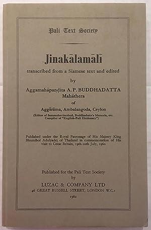 Jinakalamali: ed. Ven. A.P.