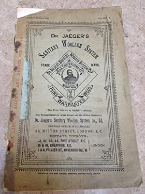 Sports clothing. Dr. Jaeger s sanitary woollen system.  The first wealth is health  Emerson. Pric...