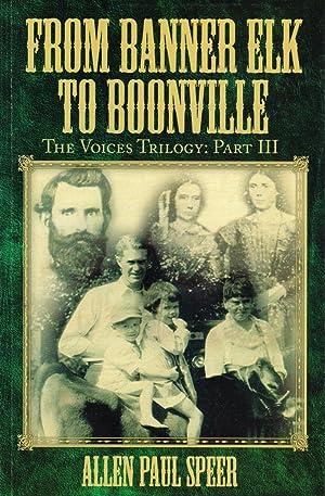 From Banner Elk to Boonville: Allen Paul Speer
